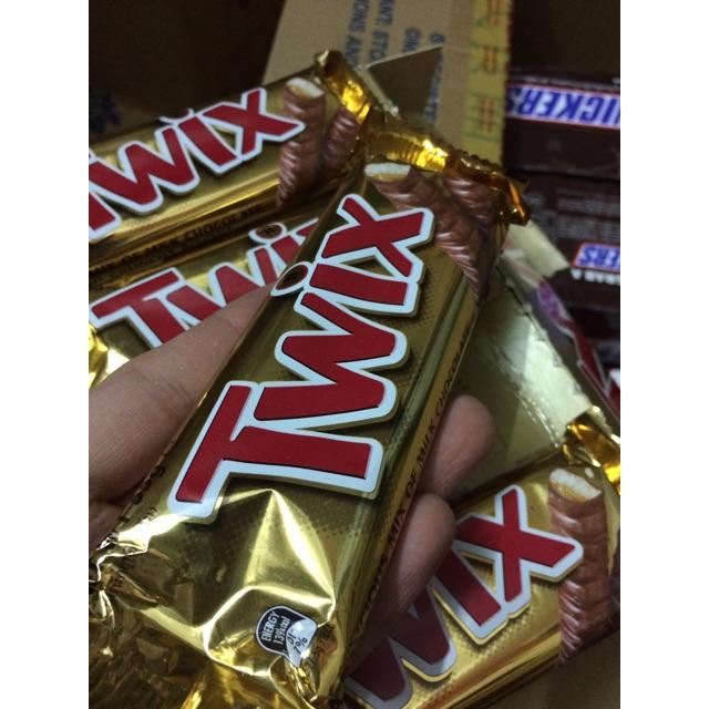 |Thanh Kẹo Úc| Socola Twix 55g