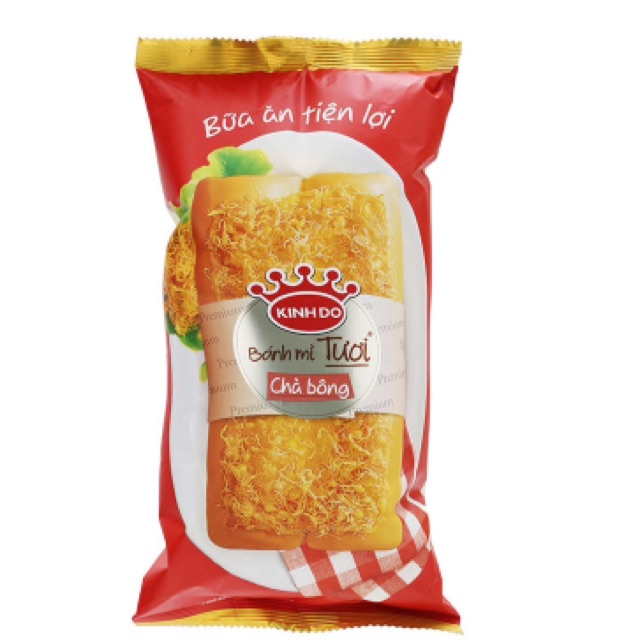 Bánh mì tươi Kinh Đô chà bông 90g - 2534605 , 449352636 , 322_449352636 , 24000 , Banh-mi-tuoi-Kinh-Do-cha-bong-90g-322_449352636 , shopee.vn , Bánh mì tươi Kinh Đô chà bông 90g