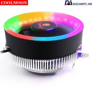 Quạt Tản Nhiệt, Fan CPU Coolmoon Q2 Led RGB - Hỗ Trợ All CPU thumbnail