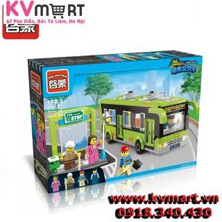 Lắp ráp legoEnlighten 1121 – chuyếnxe bus du lịch