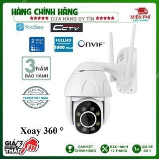 Camera IP YooSee Xoay 360 độ PTZ – Cao cấp Full HD Bảo hành 12 tháng