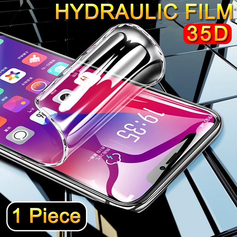 Màng thủy lực 35D HD chống thấm nước bảo vệ màn hình điện thoại toàn diện cho Redmi K30 K20 Pro Note 9s 9 Pro 8 7 6 Pro