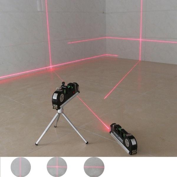 Multifunctional high-density laser level, steel ruler cross linear laser horizontal aligner