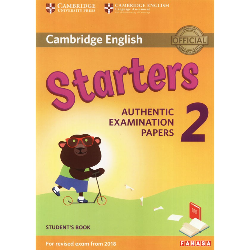 Cambridge English - Starters 2 (For revised exam from 2018)