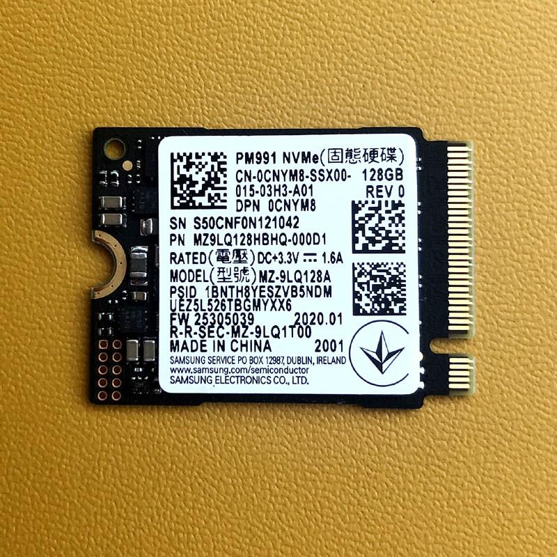 Ổ cứng SSD NVMe Samsung PM991 Toshiba 128GB 2230 hàng zin tháo máy new