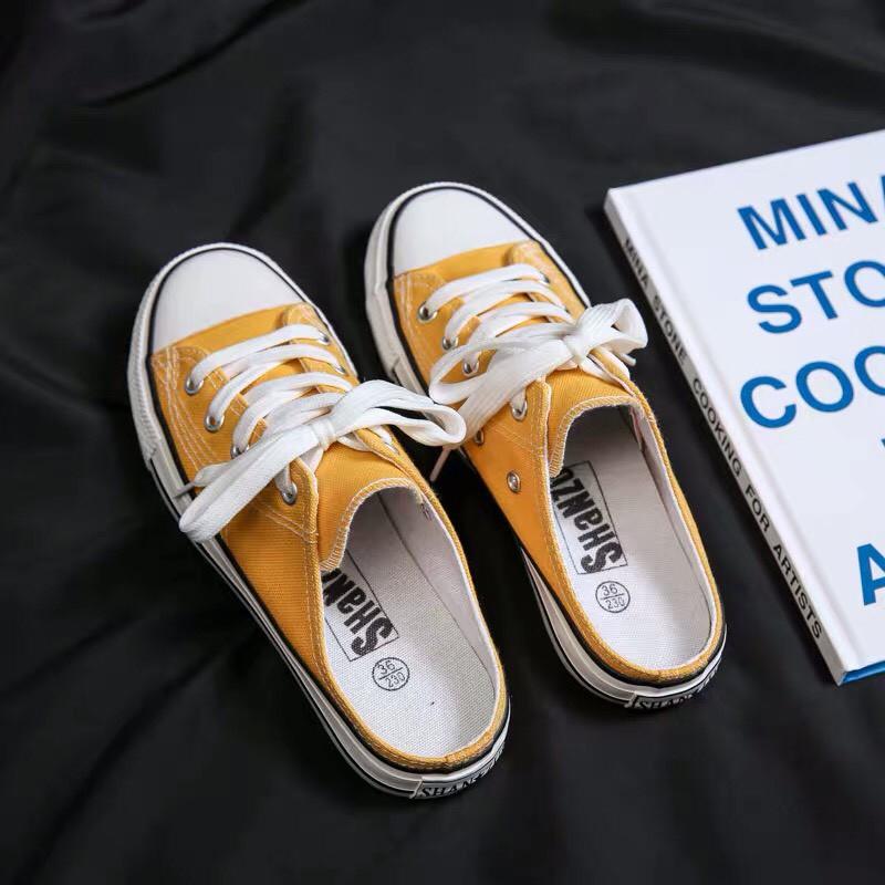 Giày sục nữ trơn siêu hot