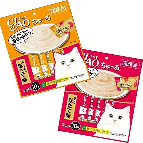 Ciao Churu - Bánh thưởng dạng sốt mịn cho mèo ( 10 tuýp )