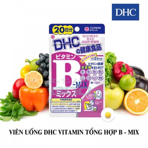 Viên uống bổ sung vitamin B DHC Nhật Bản