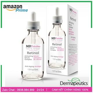 Dược phẩm Mỹ- Serum Retinol Phức Hợp - MD selections Retinol Dermapeutics, Serum Complex cho da dầu, trị mụn cao cấp