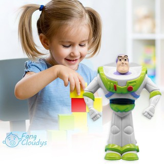 💕[IN STOCK/COD]💕 11cm Story Talking Buzz Lightyear PVC Toy Figure Model Collectible Doll
