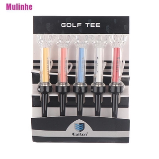 [Mulinhe] 5PCS 360 Rotation Golf Tees 90mm Tee Golf Magnetic Step Down Golf Ball Holder