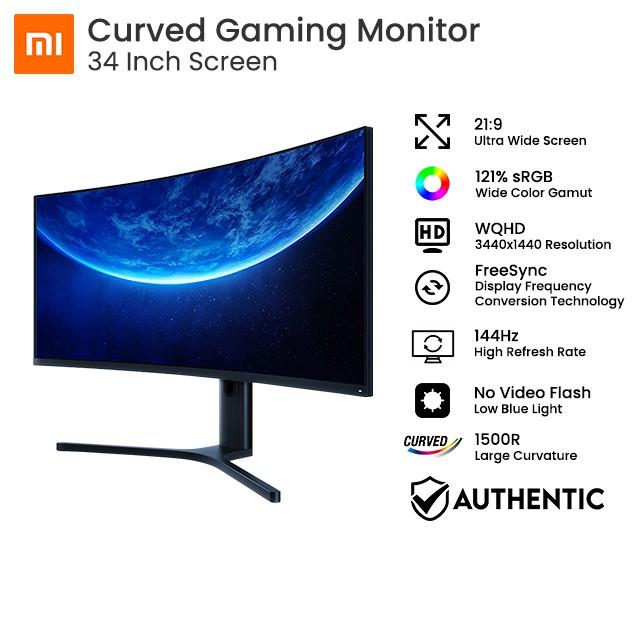 Màn hình máy tính cong Xiaomi Curved Gaming 34 inch - Hàng chính hãng