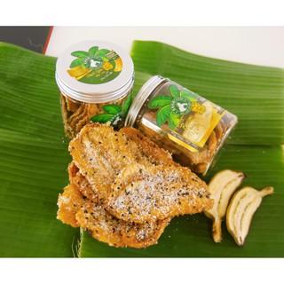 Hình ảnh Chuối Xiêm Sấy Dẻo phủ thêm lớp Dừa, Mè đen Cocofarm-0