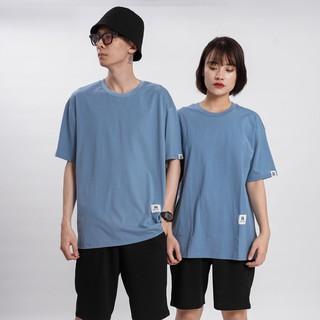 Hình ảnh [Mã FAMAYMA giảm 10K đơn 50K] Áo thun Unisex N7 Basic Tee phông trơn nam nữ tay lỡ oversize form rộng 12 màu-7
