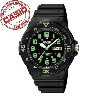 Đồng hồ nam dây nhựa Casio Standard Anh Khuê MRW-200H-3BVDF