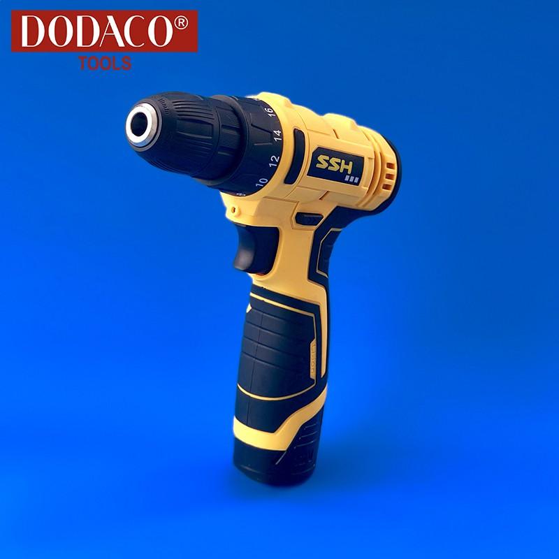 [Freeship] - Máy khoan vặn vít dùng pin DODACO DDC3201 SSH - 12V - 20 x 19 x 5cm (Vàng) - 2615402 , 1288453283 , 322_1288453283 , 846000 , Freeship-May-khoan-van-vit-dung-pin-DODACO-DDC3201-SSH-12V-20-x-19-x-5cm-Vang-322_1288453283 , shopee.vn , [Freeship] - Máy khoan vặn vít dùng pin DODACO DDC3201 SSH - 12V - 20 x 19 x 5cm (Vàng)
