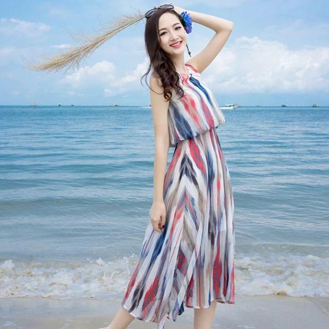 Váy maxi, đầm đi biển, váy nữ - 2971190 , 1185933545 , 322_1185933545 , 239000 , Vay-maxi-dam-di-bien-vay-nu-322_1185933545 , shopee.vn , Váy maxi, đầm đi biển, váy nữ