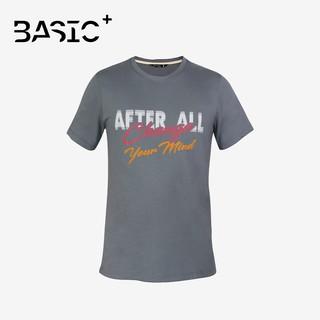 Áo thun nam tay ngắn After All, in chữ Change Your Mind, màu xám - A01-15 thumbnail