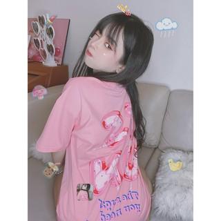 Hình ảnh Áo Thun TSUN - Candy - Hồng-1