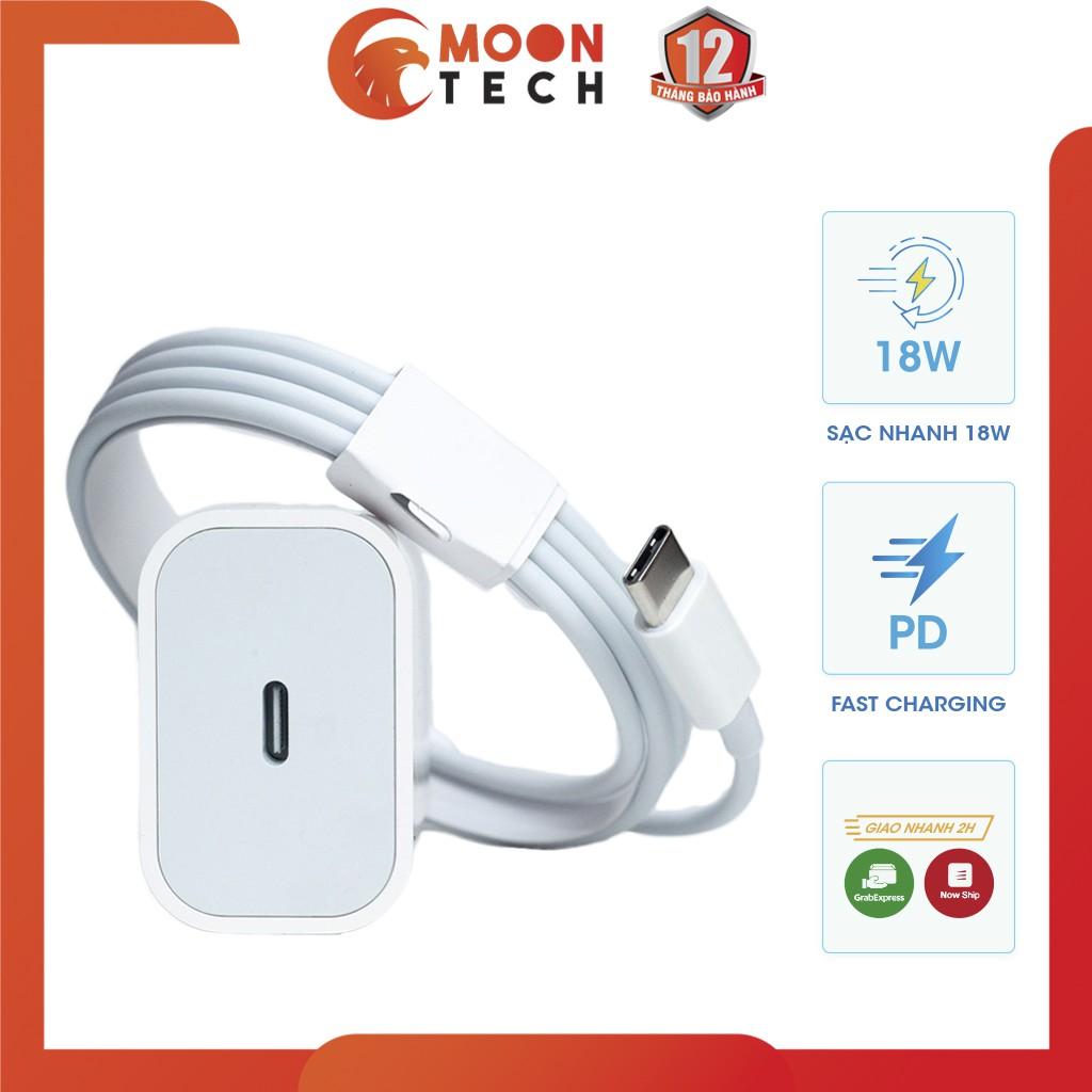 (BH 12 tháng) Bộ Sạc Nhanh Iphone PD 18W USB-C To Lightning Phù Hợp Với Máy 8/8P/X/XS/11/11Pro