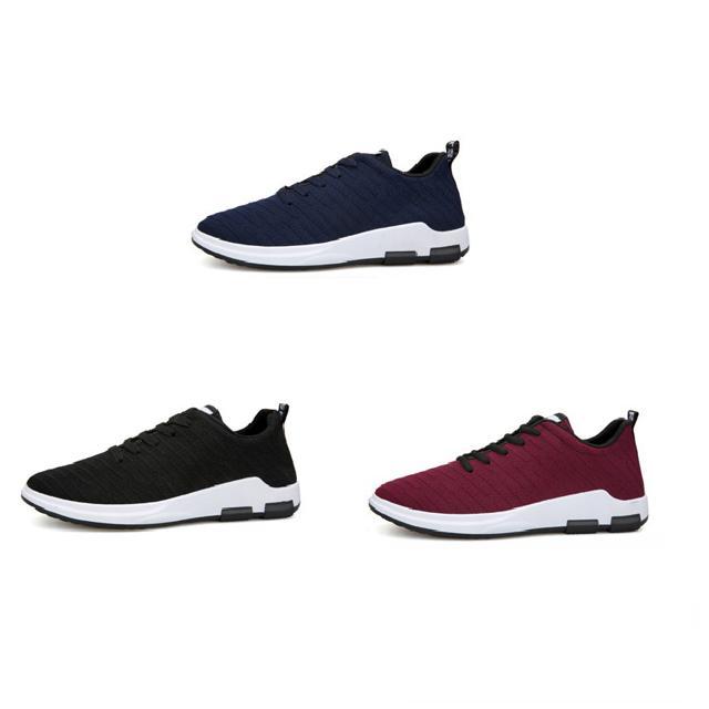 [Có hộp] Giày nam vải xước Fashion 2019