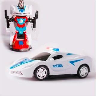 Đồ chơi ô tô biến hình siêu xe cảnh sát(Nhiều màu) siêu tiện dụng