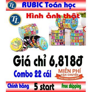 (miễn phí vc) Combo 22 cái trò chơi Rubic rubik toán học