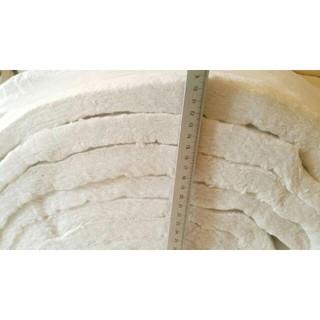 Bông gốm Ceramic Fiber hệ số dẫn nhiệt thấp và khả năng cách nhiệt cao đến 1260 độ, được dùng cho các dự án cách nhiệt.