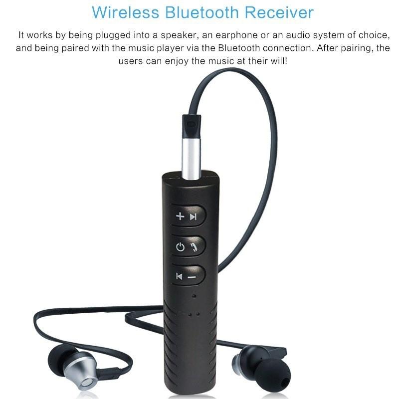 Đầu thu bluetooth receiver tạo kết nối âm thanh 4.1 rảnh tay - Đầu thu nhạc Bluetooth cho mọi dàn loa