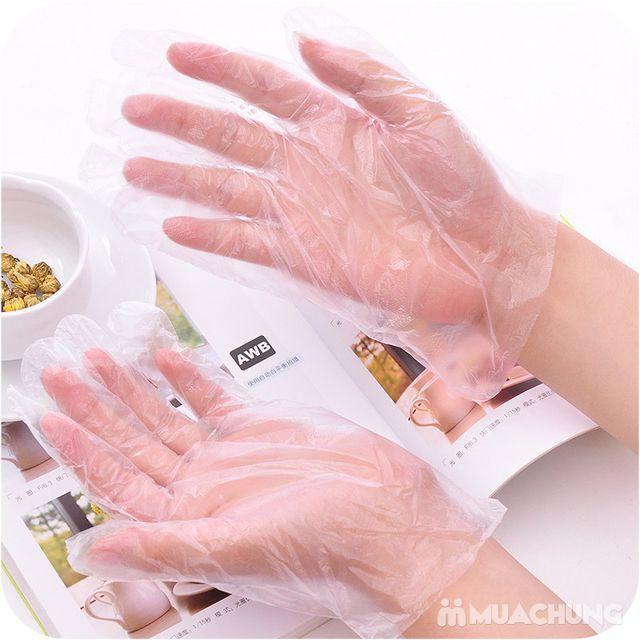 1 thùng100 Hộp Găng tay nilon dùng 1 lần 100 cái/ hộp
