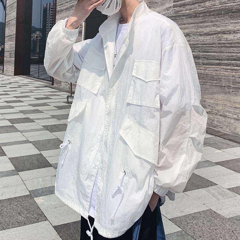 Áo Khoác Nam Nhiều Túi Thời Trang Hàn Quốc