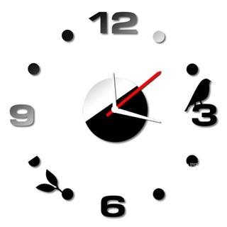 Đồng hồ số mica MẪU CHIM NHỎ A4