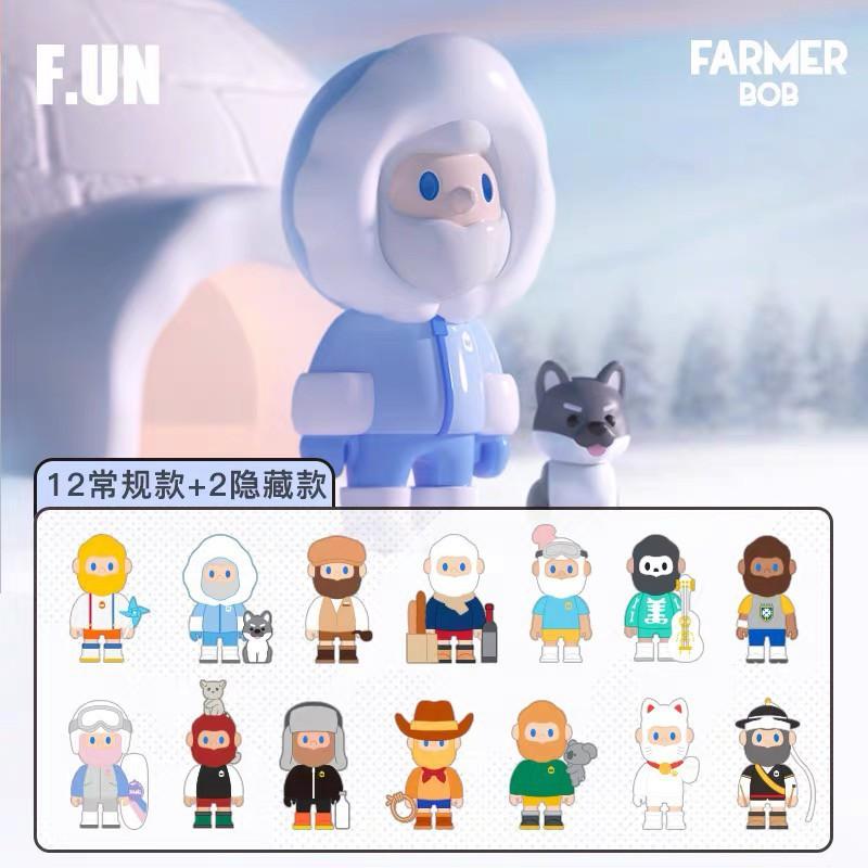 [ LẺ ] Mô hình Farmer Bob Around World ( art toy )