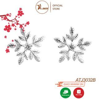 Bông tai bạc Ý 925 Hoa Bông Tuyết Dành Cho Nữ ANTA Jewelry - ATJ3032B thumbnail