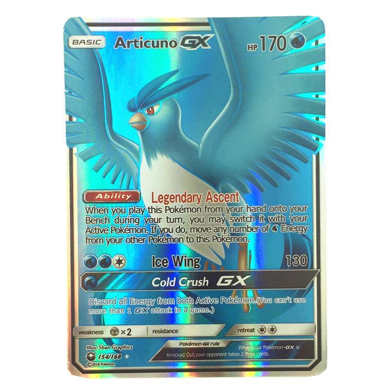 pokemons Cards Game Battle Carte Trading Cards Game Children Pokemons for gift