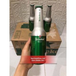 [06/2021] Bia Heineken chai nhôm Hà Lan