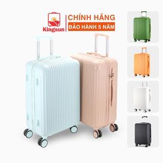 Vali du lịch Kingsun vali kéo Size20/24inch KS-T02/155 Cao Cấp bảo hành 5 năm