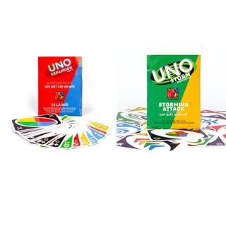 Combo Bài Uno mở rộng 1+2 (Uno storm + Uno battle)