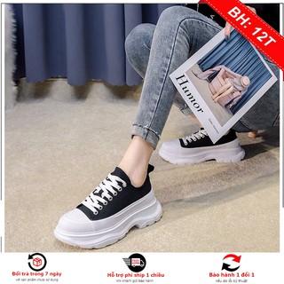 Giày Sneaker Nam Nữ Mcq Gót Cao phiên bản nâng cấp