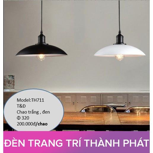 ĐÈN THẢ TRANG TRÍ PHÒNG BẾP CỬA HÀNG QUÁN CAFE TH711 (TẶNG BÓNG RẠNG ĐÔNG)