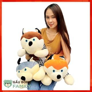 Gấu Bông Chó Husky Ngộ Nghĩnh 60cm