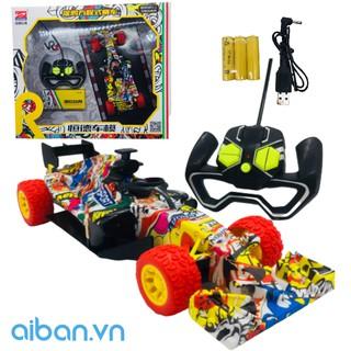 Xe đua F1 graffity Aiban CỠ LỚN có pin sạc Aib. 342345