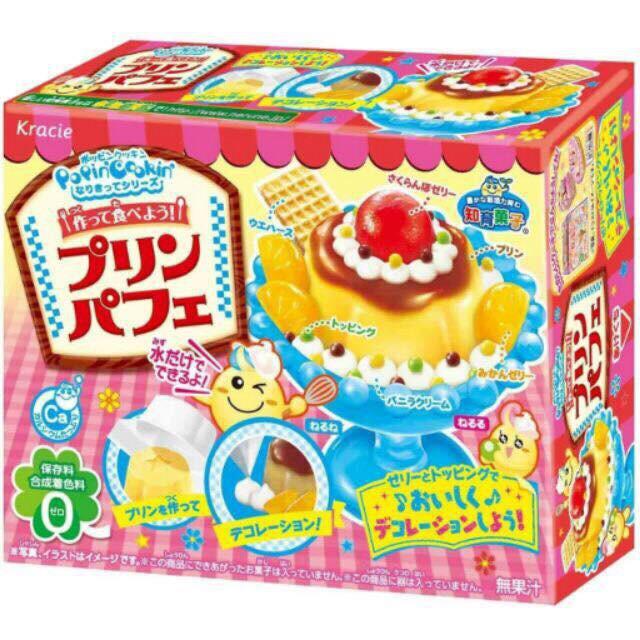 Popin cooking bánh Pudding- đồ chơi làm bánh Nhật Bản