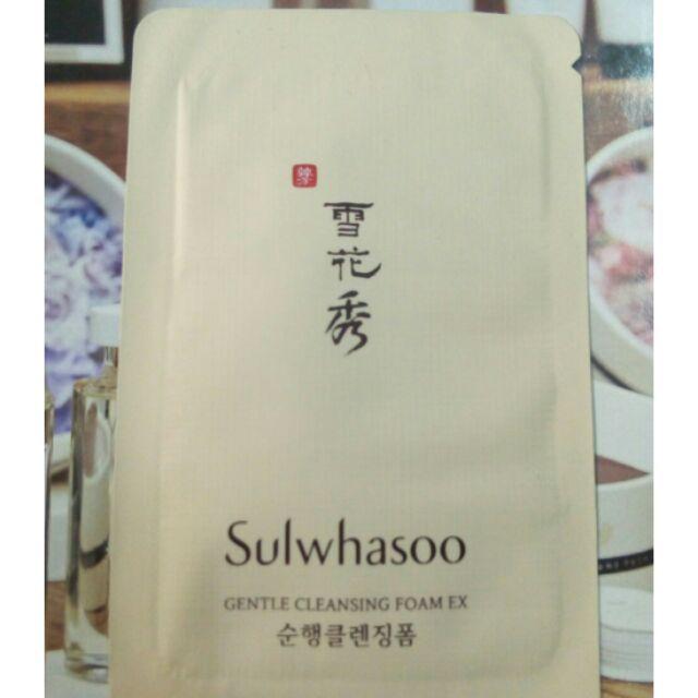 Gói sữa rửa mặt đông Y cao cấp Mùi hương thảo dược thích hợp với mọi loại da sulwhasoo