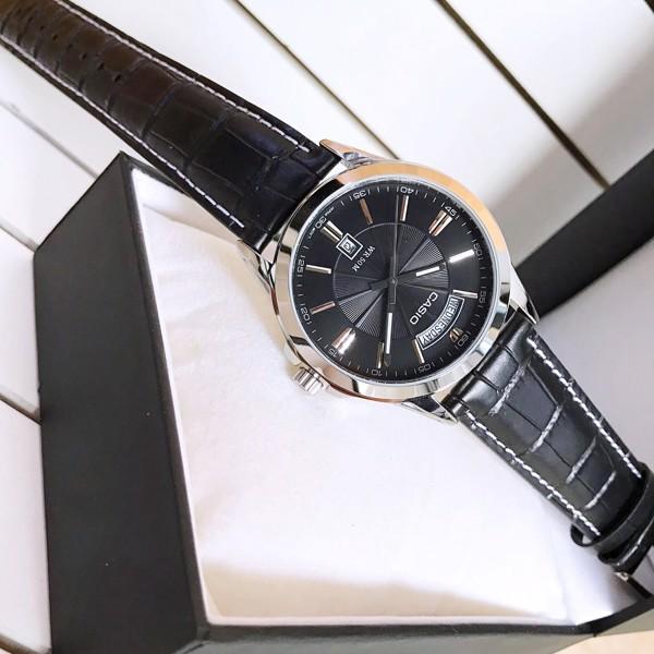 Đồng hồ nam CASIO chính hãng MTP-1381L, dây da