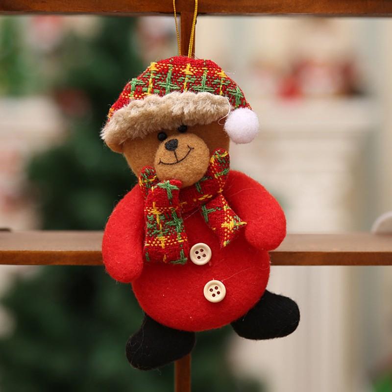 Christmas Tree Hanging Ornament Craft Pendant Home Gift