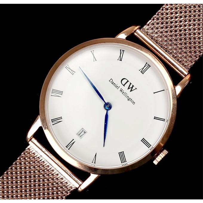 danial wellingtan dw Watch นาฬิกาข้อมือคู่รักแท้ นาฬิกาควอทซ์ นาฬิกาข้อมือสตรี ของขวัญสำหรับคนรัก