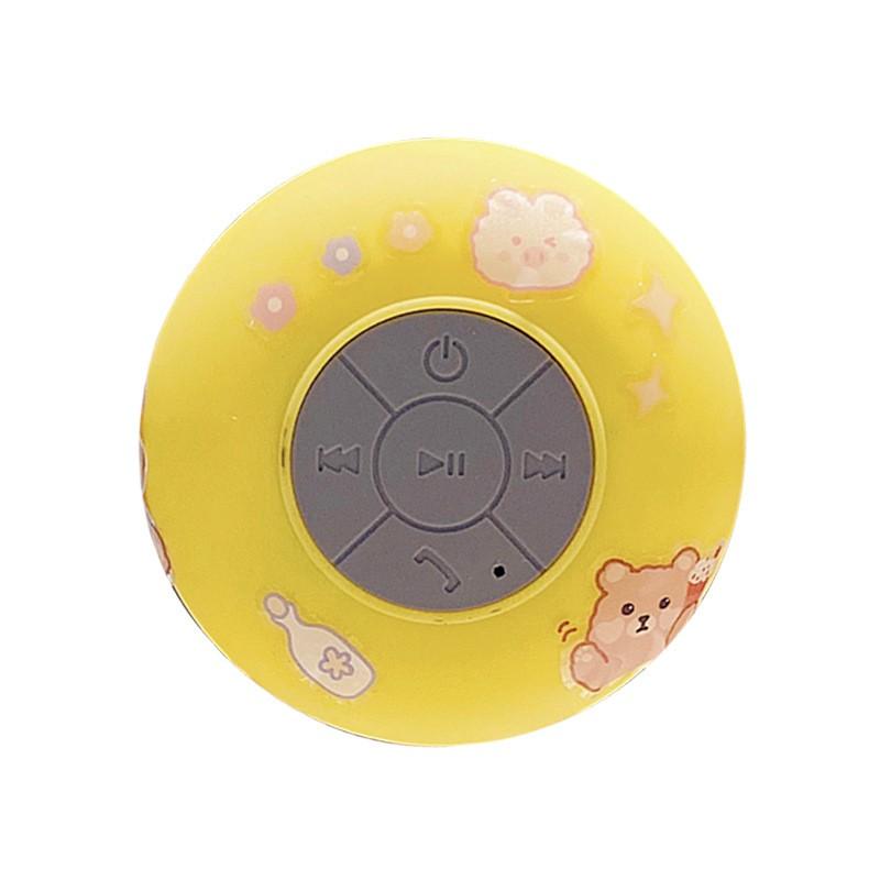 Loa Bluetooth️️CHỐNG NƯỚCKiêm Giá Để Điện Thoại, Loa Bluetooth Mini Tặng Kèm Sticker Dễ Thương