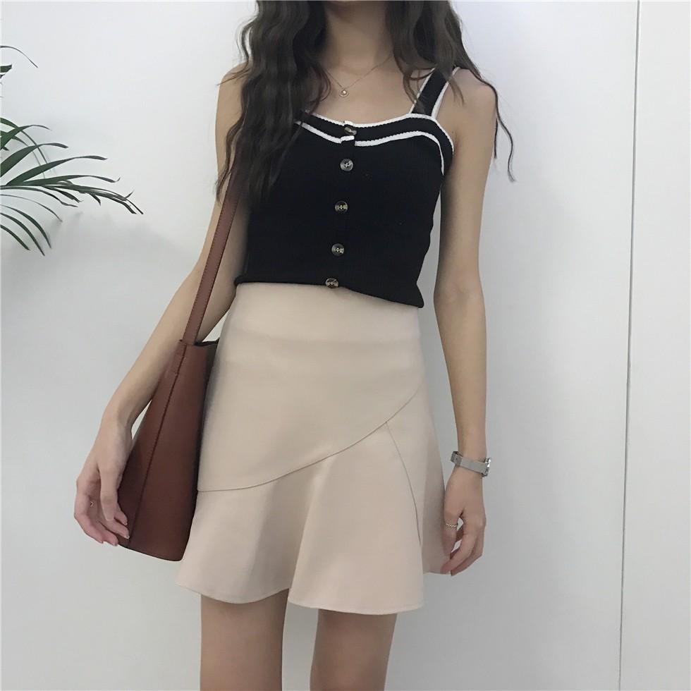 Chân váy ngắn phong cách Hàn Quốc