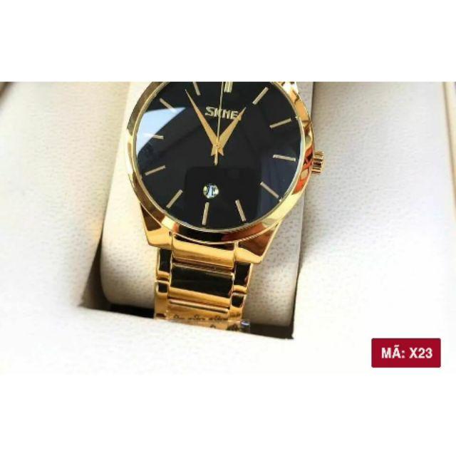 Đồng hồ skmei nam + hộp thời trang